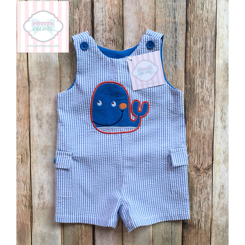 Whale themed one piece 3-6m