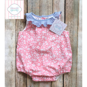 Baby Gap floral one piece 3-6m