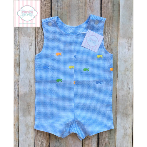 Fish themed one piece 12m