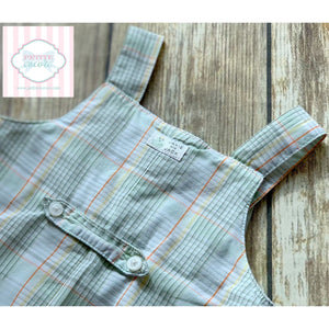 Janie and Jack overalls 0-3m