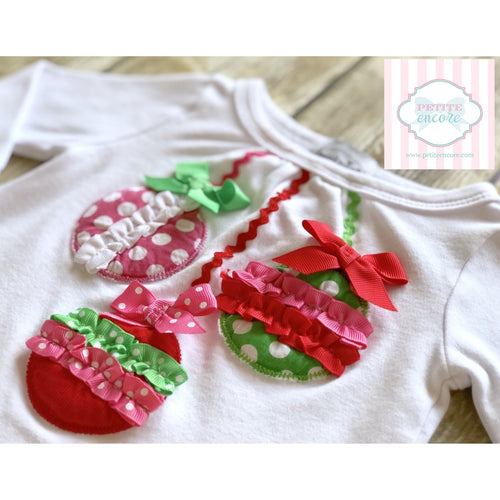 Mud Pie holiday shirt 0-6m