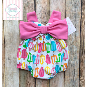 Popsicle themed swimsuit by Mud Pie Baby 0-6m