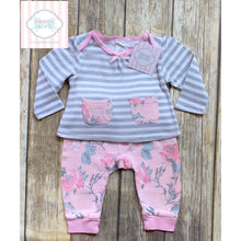 Laura Ashley two piece 6-9m