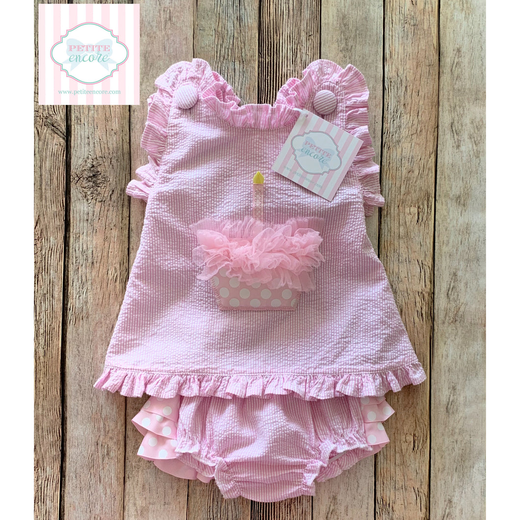 Mud Pie Baby two piece 0-6m