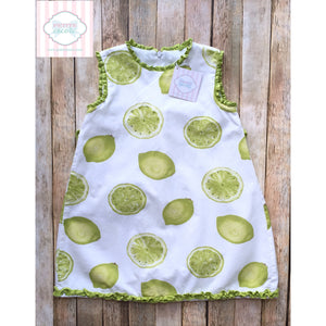 Lime themed dress by Trish Scully 4