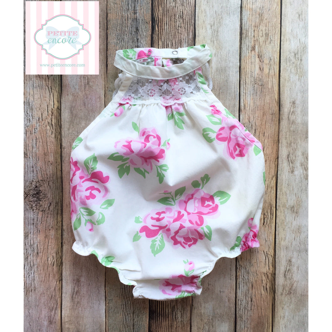 Floral one piece 9m