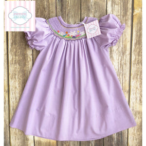 Smocked Easter dress by Rosalina 18m