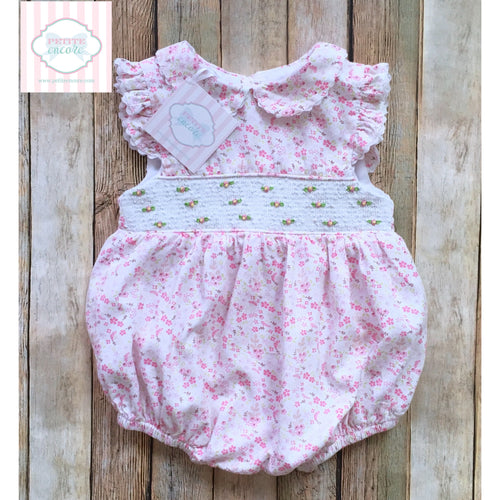Smocked one piece 18-24m