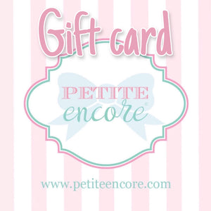 Gift card $25-$150