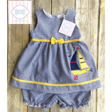Sailboat themed two piece by Toffee Apple 18m