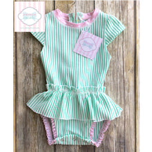 Ruffle Butts swimsuit 6-12m