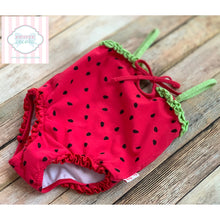 Le Top strawberry themed one piece swimsuit 24m