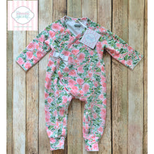 Mud Pie Baby floral one piece 3-6m