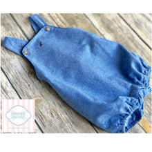 Janie and Jack overalls 6-12m