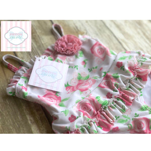 Little Me swimsuit 6-9m