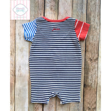 Lobster themed one piece by Joules 0-3m