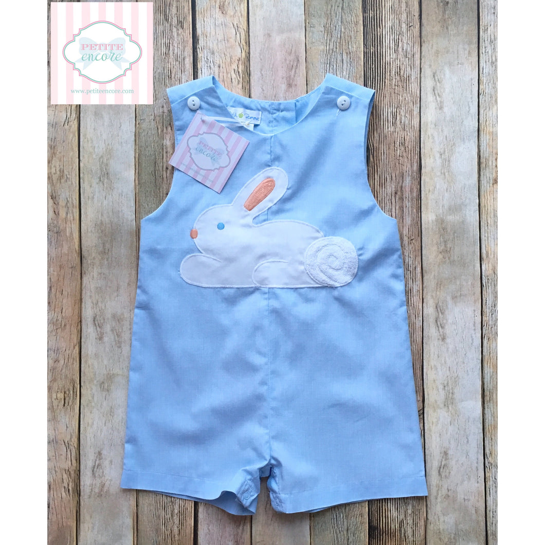 Petit Pomme bunny themed one piece 12m