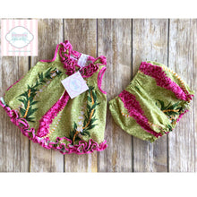 Hawaiian themed two piece 6m