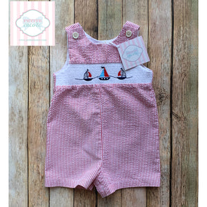 Nautical one piece 6-9m