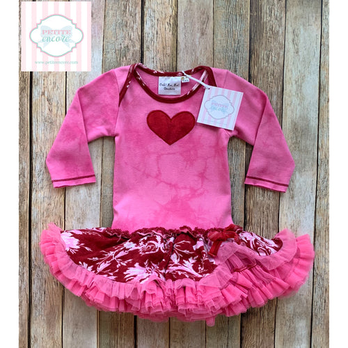 Valentine dress by Ooh La La Couture 6-9m
