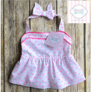 Janie and Jack halter 6-12m