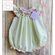 Smocked ladybug themed bubble by Shrimp & Grits 18m