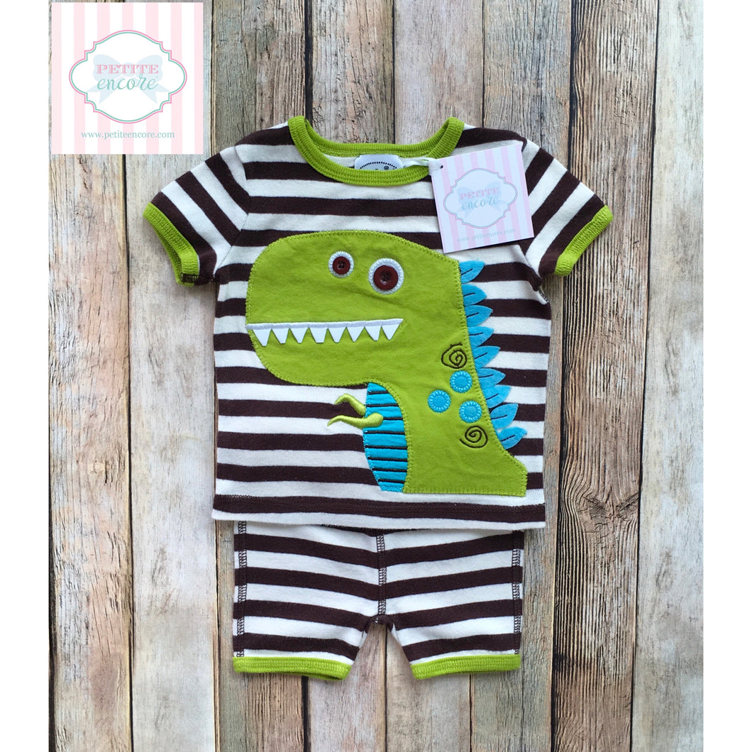 Mud Pie two piece 0-6m