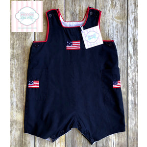 Patriotic one piece 6-12m