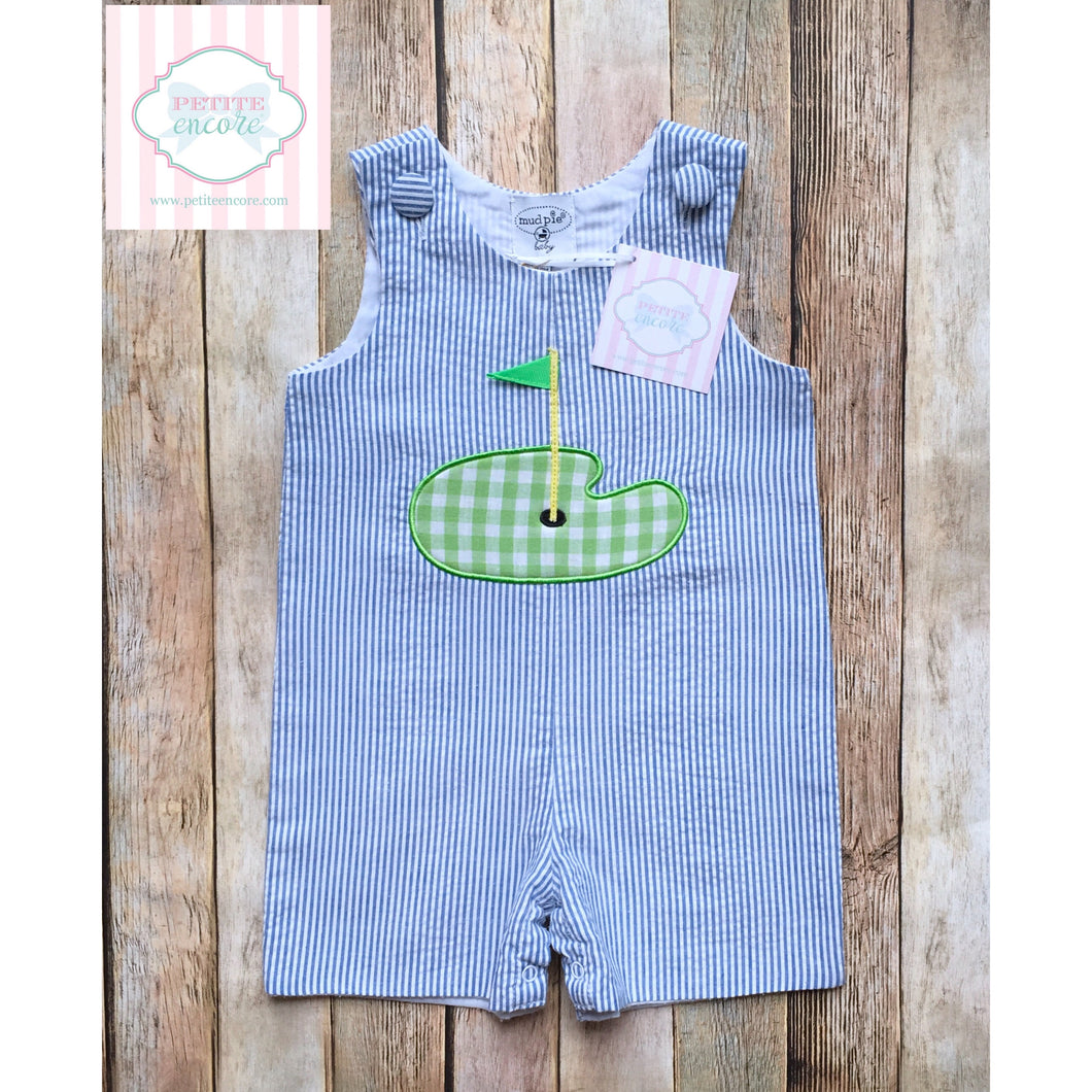 Golf themed one piece by Mud Pie Baby 12-18m