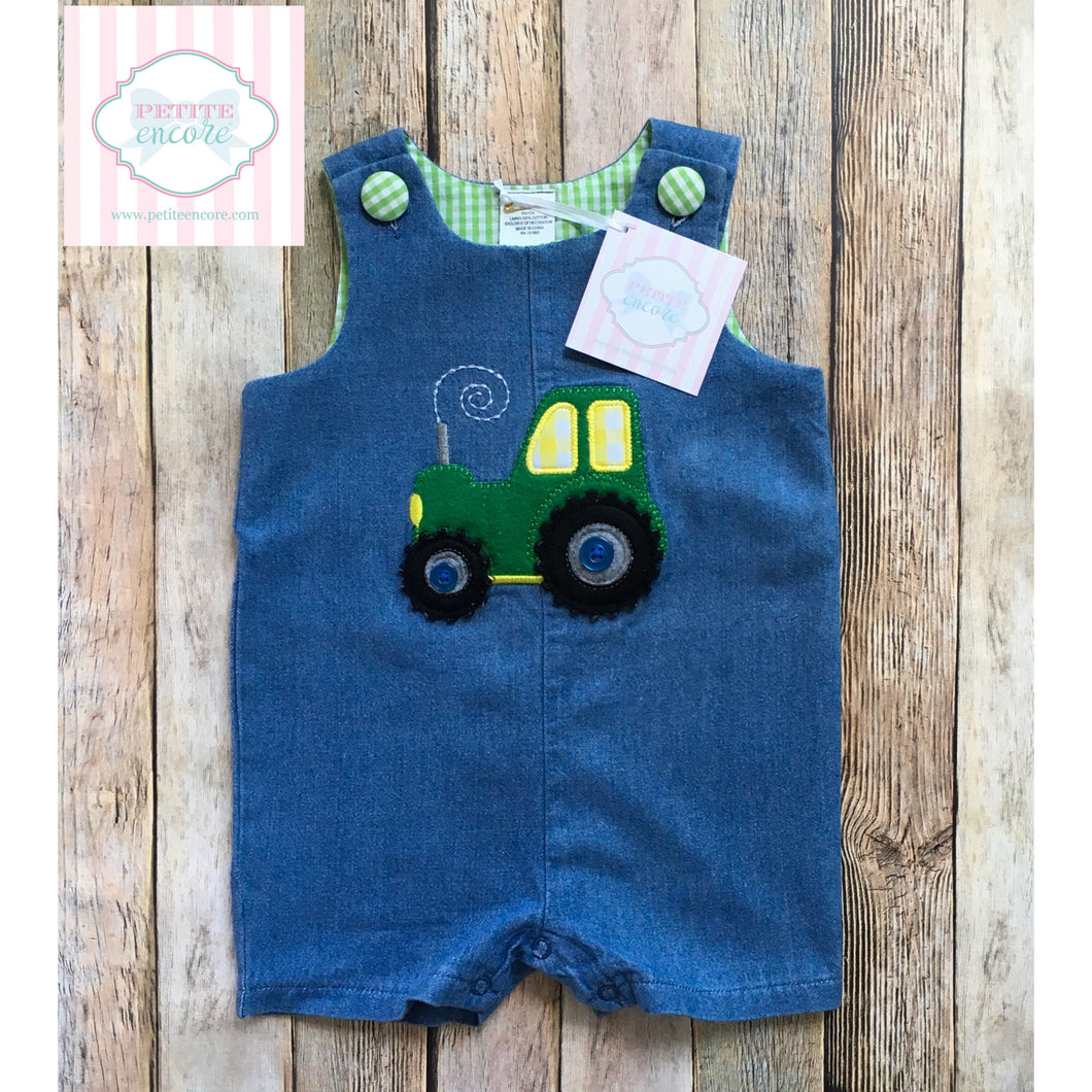 Tractor themed one piece 12m