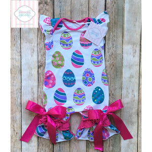 Easter themed one piece 0-3m