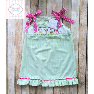 Smocked dress by Smock Stars 6T