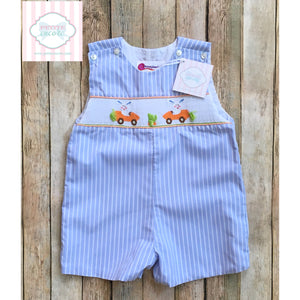 Smocked Easter one piece 18m