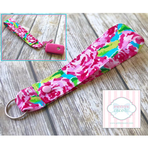 Lilly inspired keychain