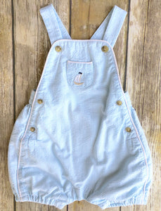 Janie and Jack overalls 3-6m