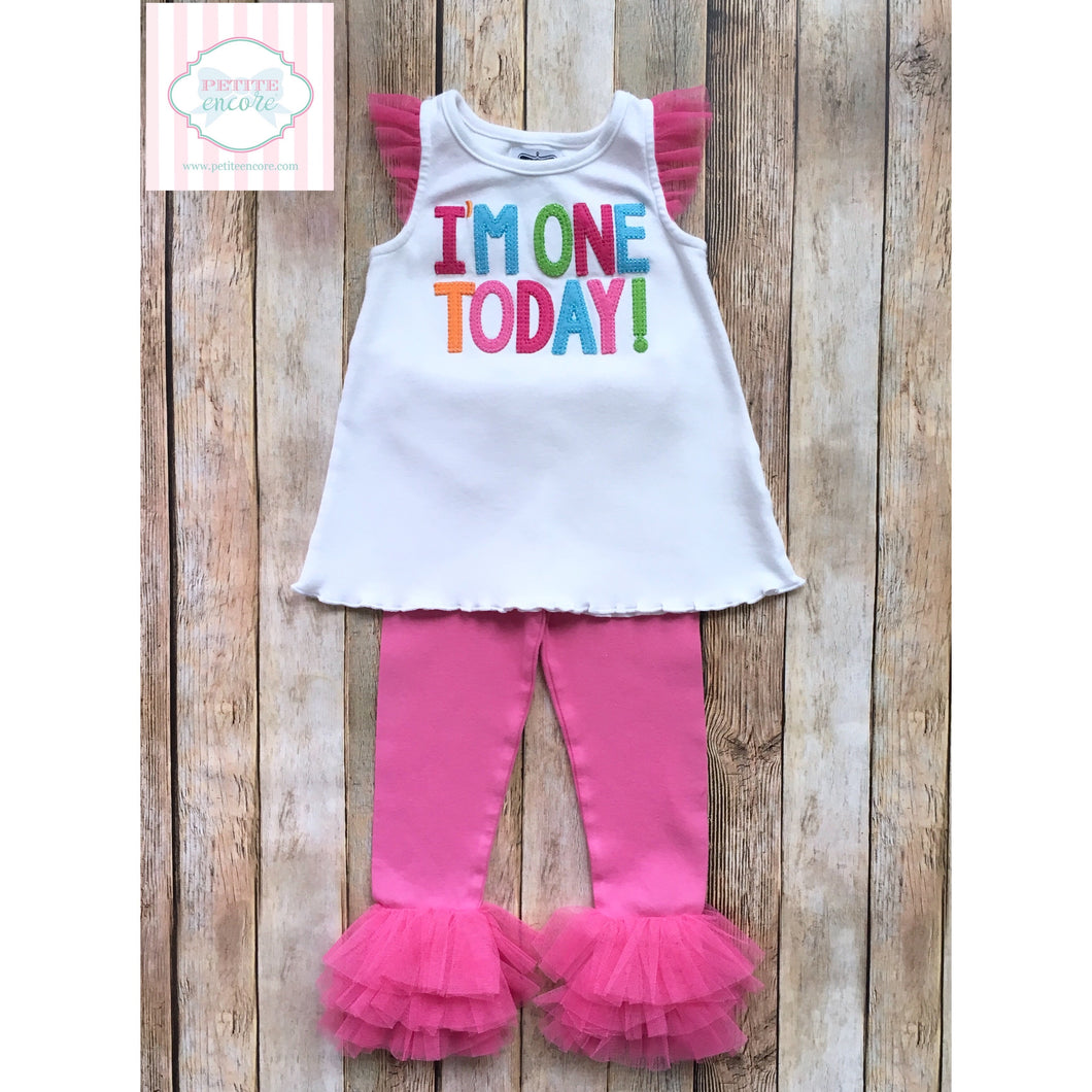 First Birthday outfit by Mud Pie Baby 12-18m