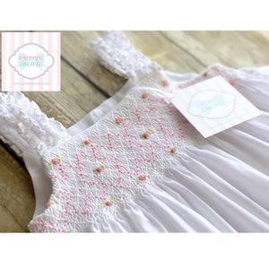 Smocked dress by Edgehill Collection 24m