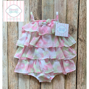 FAO Baby ruffled bubble 0-3m
