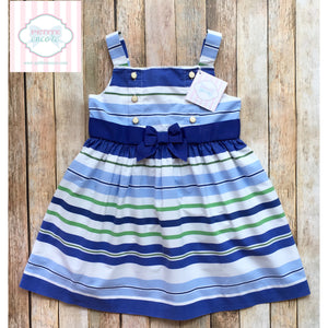 Janie and Jack striped dress 3