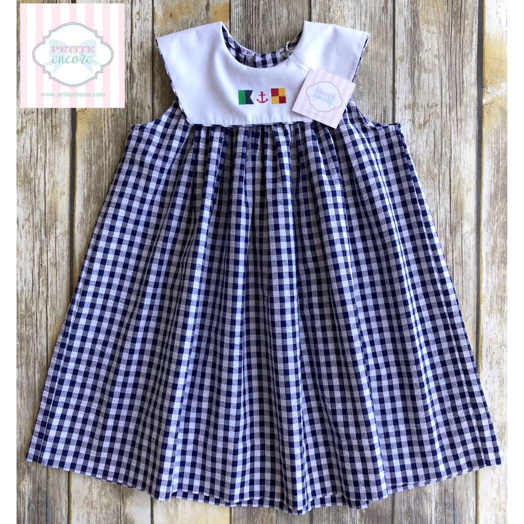Kelly's Kids nautical dress 4T