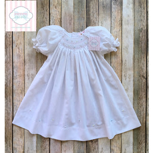 Petit Ami smocked dress 18m