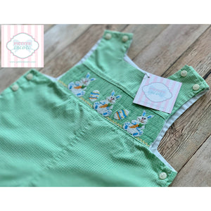 Smocked Easter one piece 12m