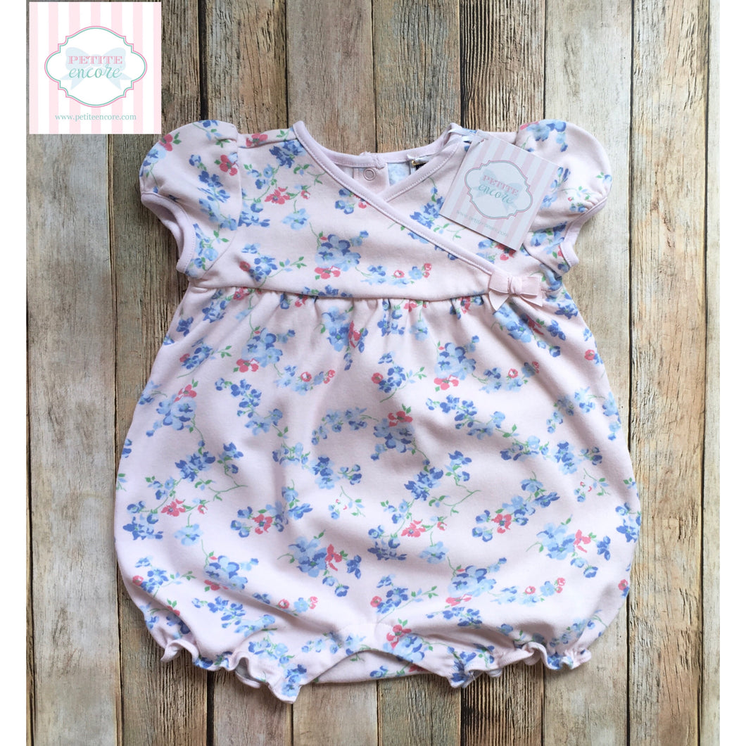 Janie and Jack floral bubble 18-24m