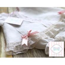 Linen two piece by Little Princess NB