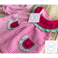 Watermelon themed two piece- 6-9m