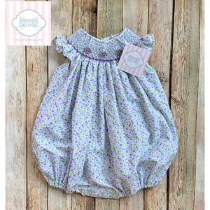 Smocked bubble 6m