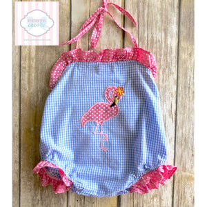 Flamingo one piece by Lil' Cactus 18-24m