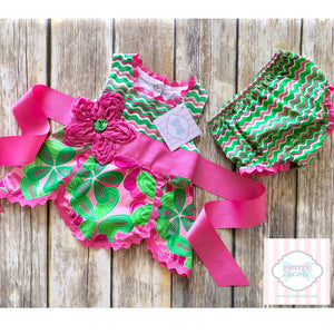 Mud Pie Baby two piece 9-12m