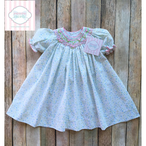 Petit Ami smocked dress 3m