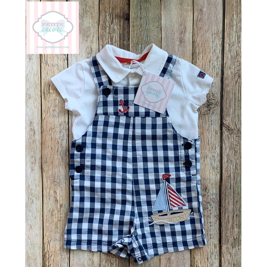 Nautical two piece by Little Me 6m